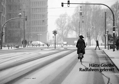 Haette Goethe Radfahren gelernt